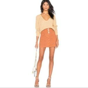 Free People Revolve Every Minute Every Hour Skirt